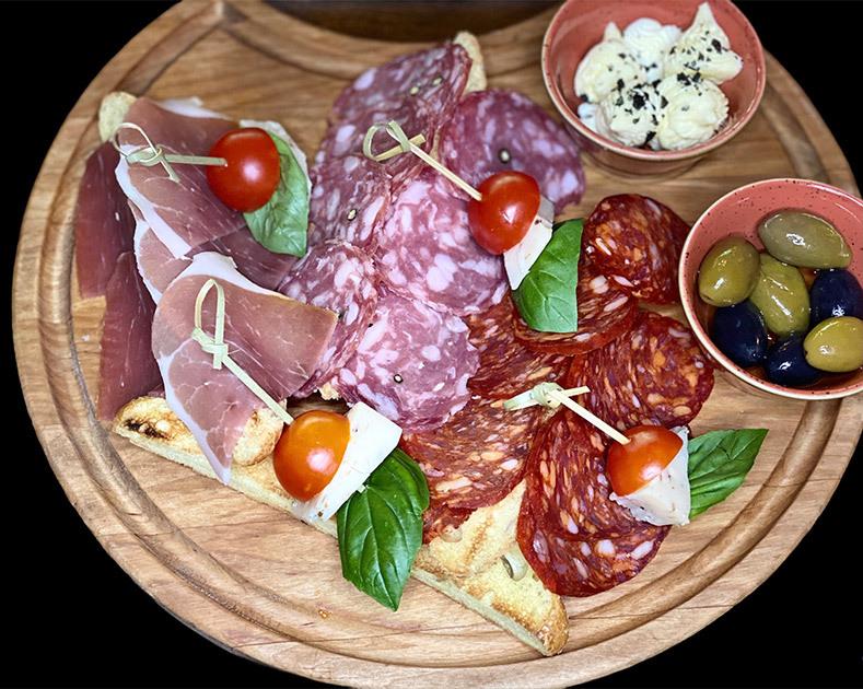 Итальянская тарелка