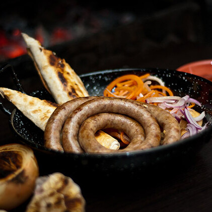 Колбаса «Австрийская» из курицы, свинины